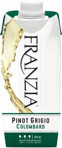 Franzia Pinot Grigio White Wine Perspective: left
