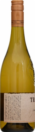 Tribute Chardonnay White Wine Perspective: left