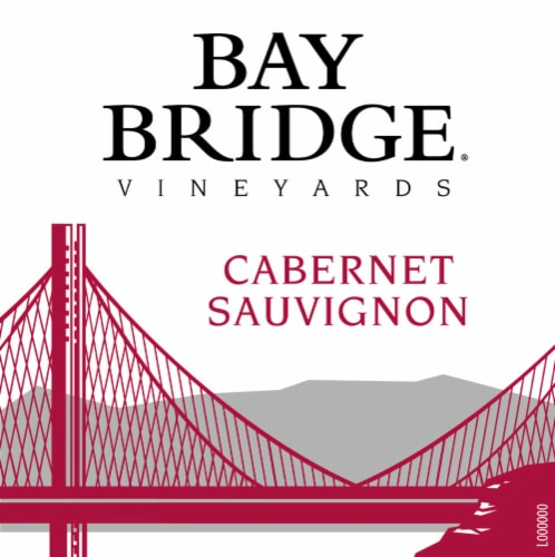 Bay Bridge Cabernet Sauvignon Red Wine Perspective: left