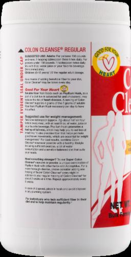 Health Plus The Original Colon Cleanse Bulk Forming Dietary Supplement Perspective: left