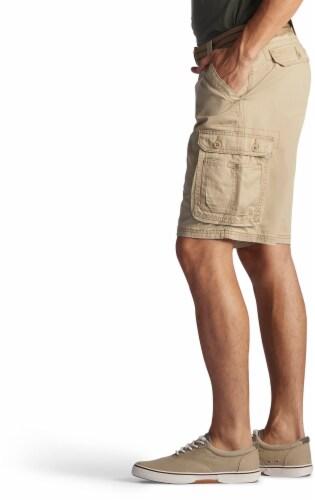 Lee Men's Wyoming Cargo Shorts - Buff Perspective: left