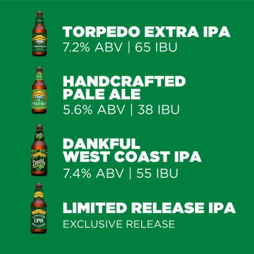 Sierra Nevada Brewing Co. The Sampler Variety Pack Perspective: left
