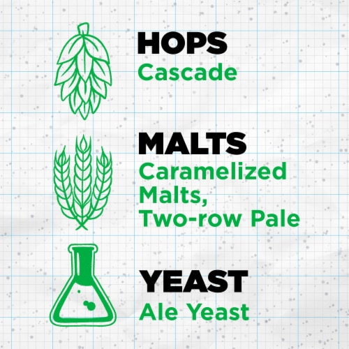 Sierra Nevada Brewing Co. Pale Ale Beer Perspective: left