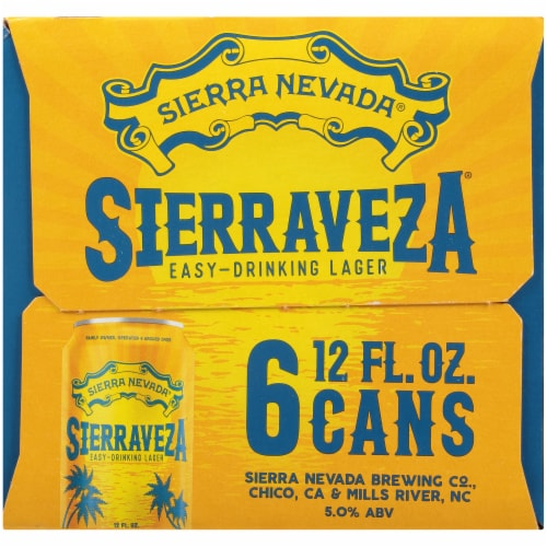 Sierra Nevada Brewing Co. SierraVeza Easy-Drinking Lager Perspective: left