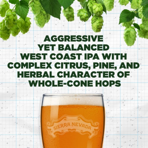 Sierra Nevada Brewing Co. Torpedo Extra IPA Perspective: left
