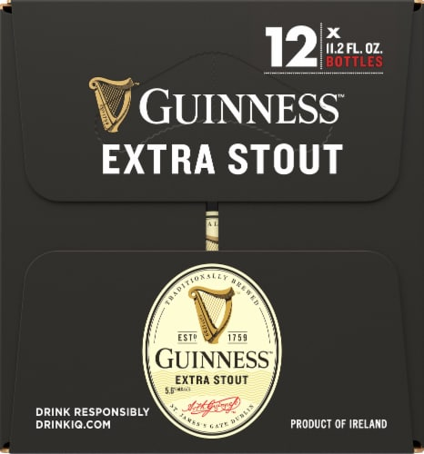 Guinness Extra Stout Perspective: left
