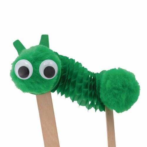 Crayola Springy Caterpillar Craft Kit Perspective: left