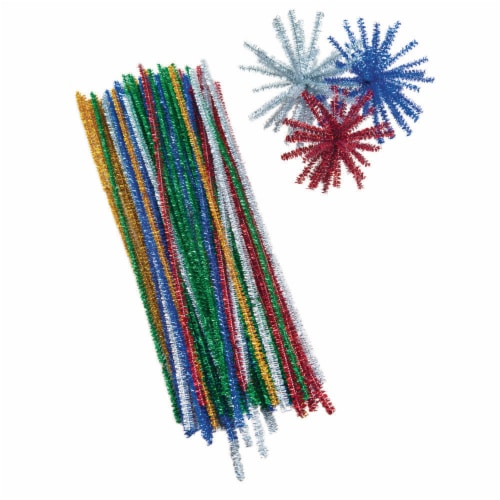 Crayola Sparkle Stems - 100 Pack - Assorted Perspective: left