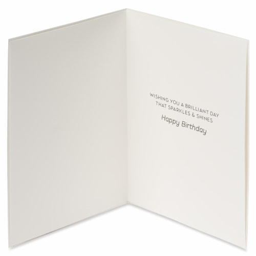 Papyrus Birthday Card (Sparkler) Perspective: left