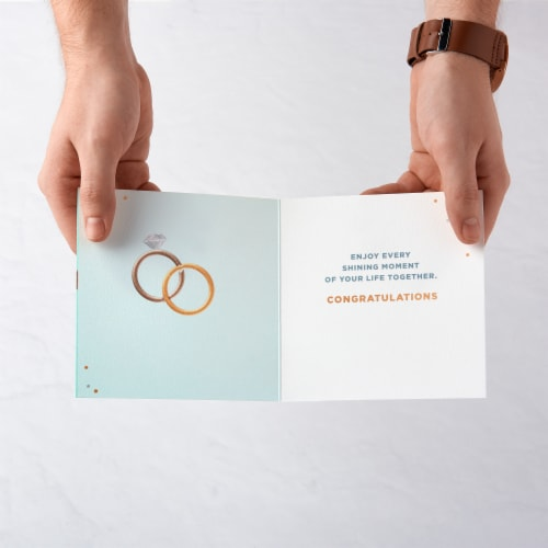 American Greetings Anniversary and Wedding Card (Forever) Perspective: left