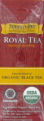Newman's Own Organic Royal Black Tea Perspective: left