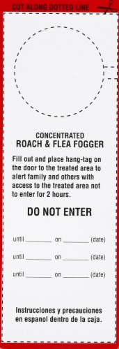 Bengal Concentrated Roach & Flea Fogger Perspective: left