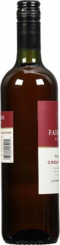 Fairbanks Cream Sherry Dessert Wine Perspective: left