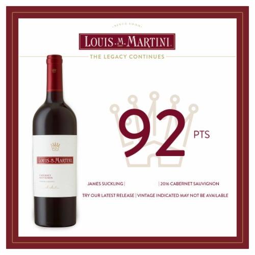 Louis M. Martini Sonoma County Cabernet Sauvignon Red Wine 750ml Perspective: left