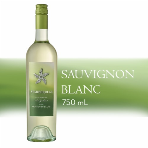 Starborough New Zealand Sauvignon Blanc White Wine 750ml Perspective: left