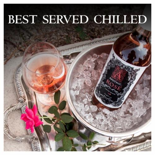 Apothic Rose Wine Perspective: left