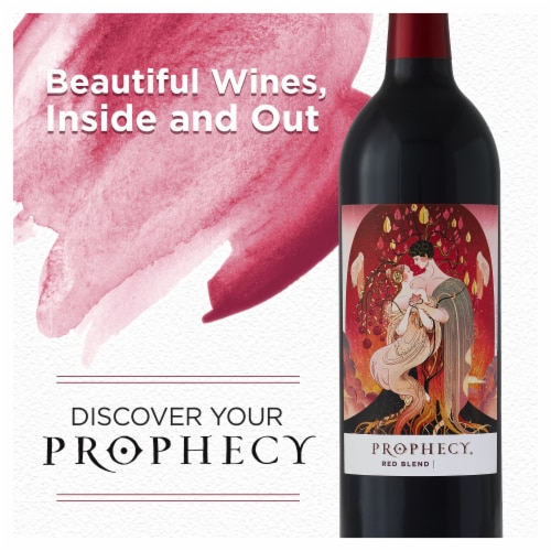 Prophecy Red Blend Red Wine Perspective: left