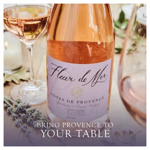 Fleur de Mer Wine Cotes De Provence Perspective: left