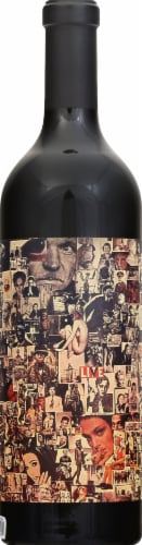 Orin Swift Abstract Red Blend Red Wine Perspective: left