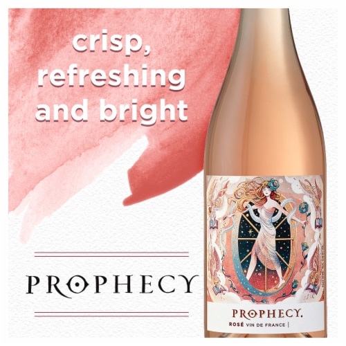 Prophecy Rose Wine Perspective: left