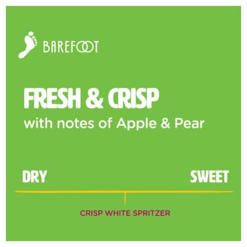 Barefoot Spritzer Crisp White Wine Perspective: left