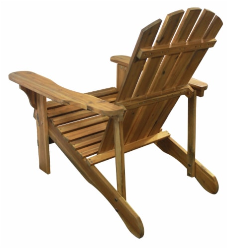 Leigh Country Adirondack Chair - Natural Stain Perspective: left