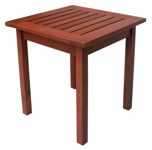Leigh Country Heartland End Table - Natural Stain Perspective: left