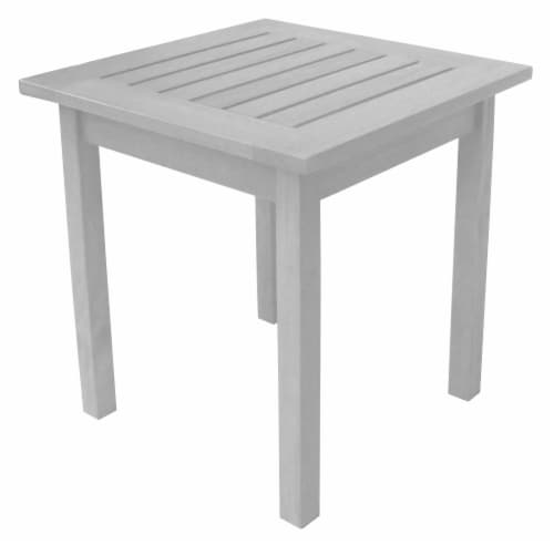 Leigh Country Heartland Square End Table - White Perspective: left