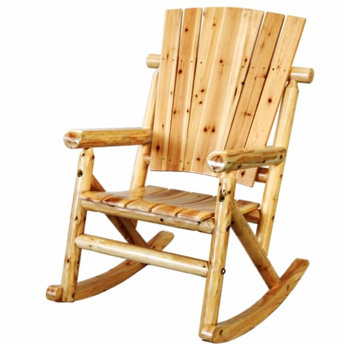 Leigh Country Aspen Single Rocker - Natural Finish Perspective: left
