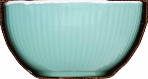 Martha Stewart Epherma Nesting Prep Bowl Set - Blue Perspective: left