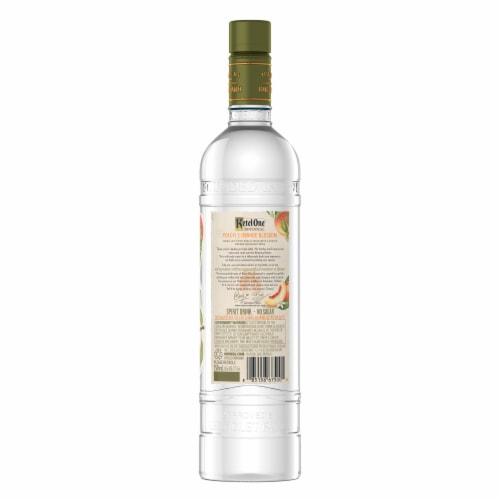 Ketel One Botanical Peach & Orange Blossom Vodka Perspective: left
