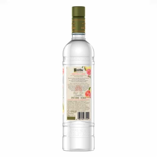 Ketel One Botanical Grapefruit & Rose Vodka Perspective: left