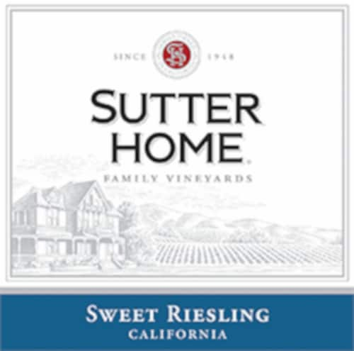 Sutter Home® Sweet Riesling White Wine Perspective: left