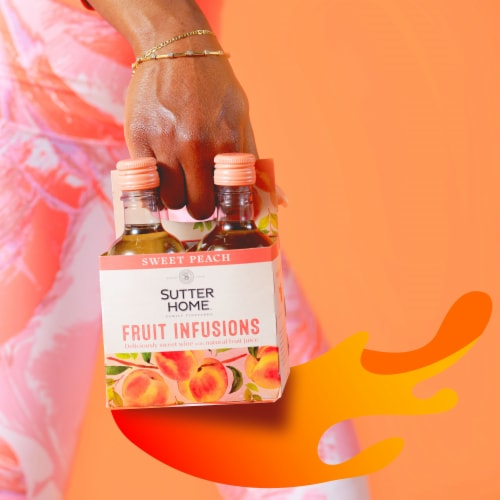 Sutter Home® Fruit Infusions Sweet Peach White Wine Perspective: left