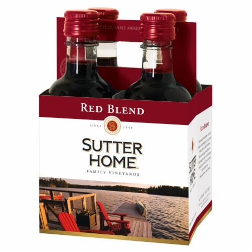 Sutter Home® Red Blend Red Wine Perspective: left