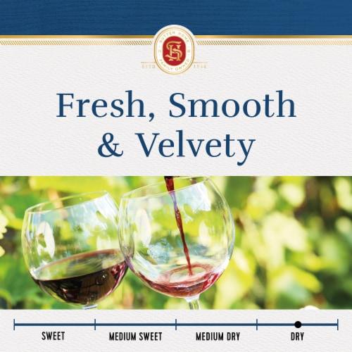 Sutter Home® Merlot Red Wine Perspective: left