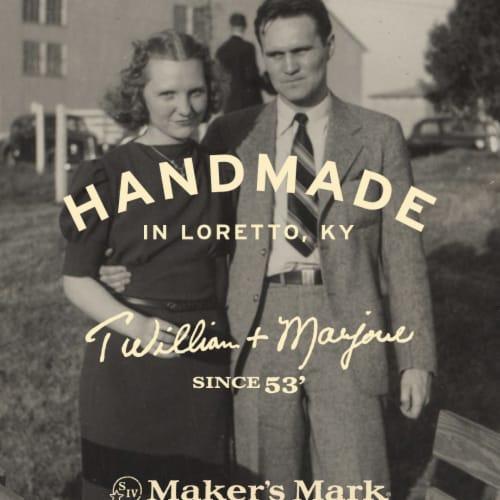 Maker's Mark Kentucky Straight Bourbon Whisky Perspective: left