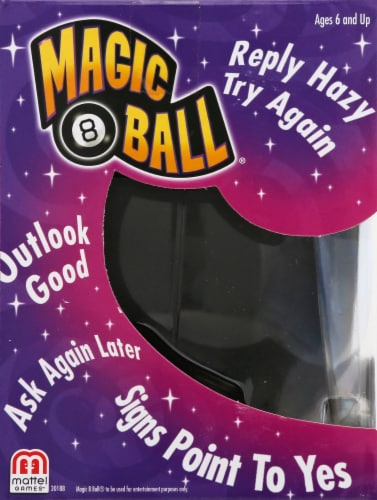 Mattel Magic 8 Ball Perspective: left