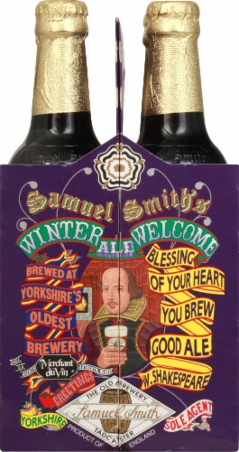 Samuel Smith's Winter Welcome Ale Perspective: left