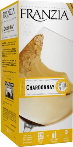 Franzia Chardonnay White Wine Perspective: left