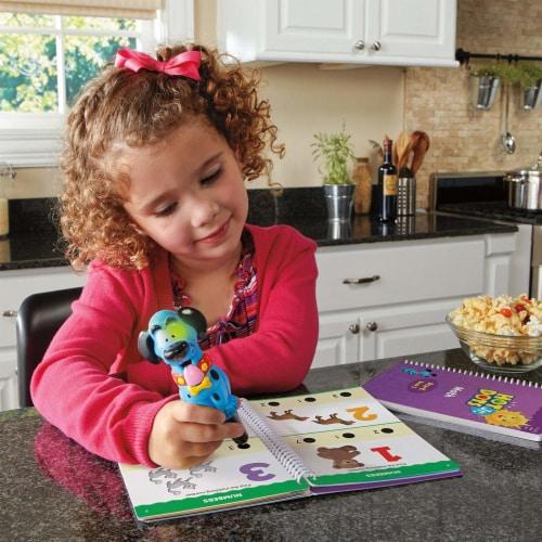Educational Insights Hot Dots Junior Let's Master Pre-Kindergarten Math Set with Ace Pen Perspective: left