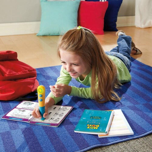 Educational Insights® Hot Dots Junior Let's Master Grade 2 Reading Set with Hot Dots Pen Perspective: left