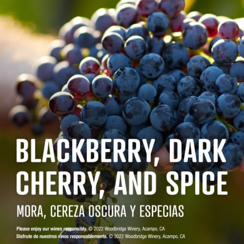 Woodbridge By Robert Mondavi Cabernet Sauvignon Red Wine Perspective: left