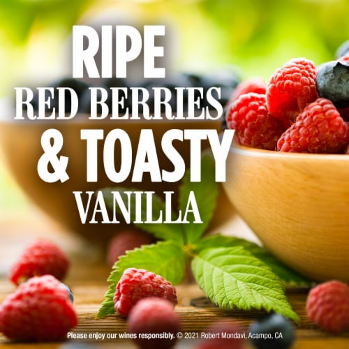 Robert Mondavi Private Selection Cabernet Sauvignon Red Wine Perspective: left