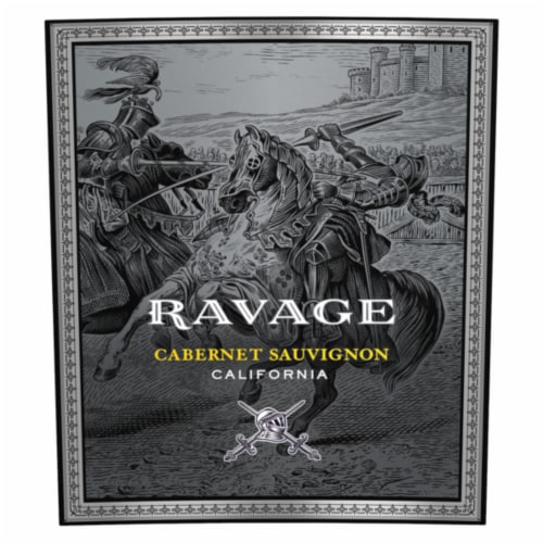 Ravage Cabernet Sauvignon Red Wine Perspective: left