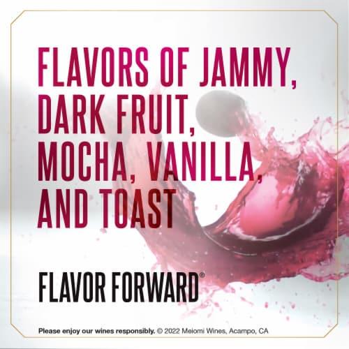 Meiomi Pinot Noir Red Wine Perspective: left