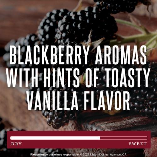 Meiomi Cabernet Sauvignon Red Wine Perspective: left