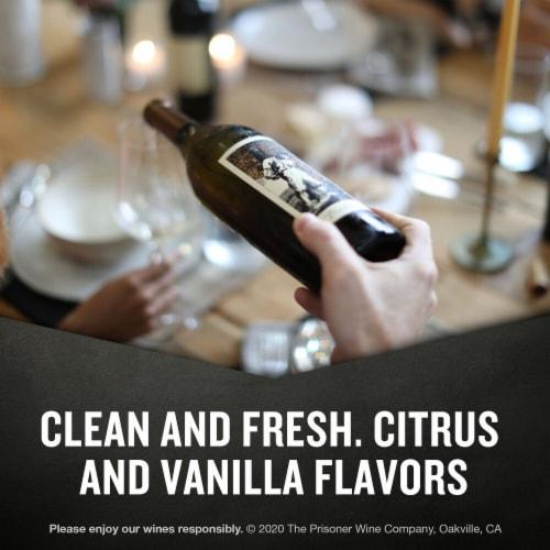 The Prisoner Wine Co. Blindfold California White Wine Perspective: left