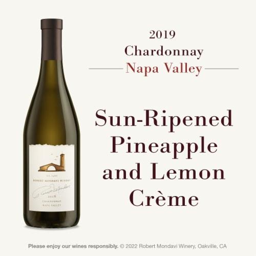 Robert Mondavi Napa Chardonnay White Wine Perspective: left
