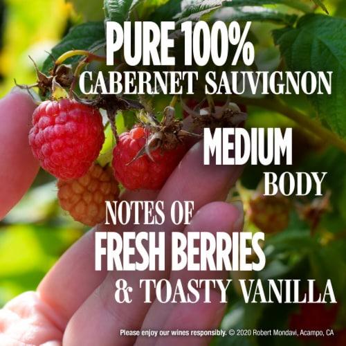 Robert Mondavi Private Selection 100% Cabernet Sauvignon Red Wine Perspective: left